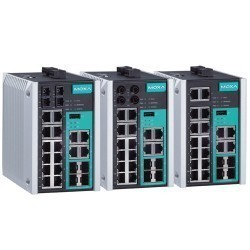 Moxa EDS-518E-MM-ST-4GTXSFP