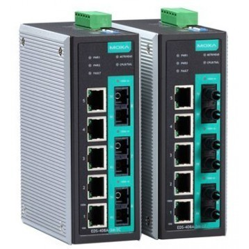 EDS-408A Series 3 ports fibre