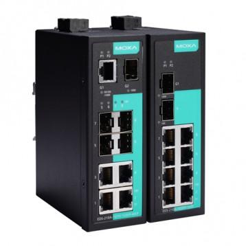 EDS-210A series 1/2 ports fibre