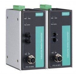 Moxa PTC-101-M12-S-SC-LV-T
