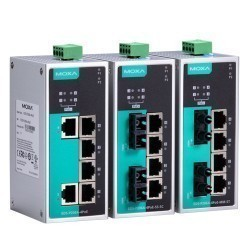 Moxa EDS-P206A-4PoE-MM-SC-T
