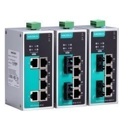 Moxa EDS-P206A-4PoE-M-SC