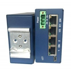 FlexDSL MF-TDM-RAILN-4E1B/2Eth-24V, V1