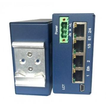 MF-TDM-RAILN-4E1B/2Eth-230, V1