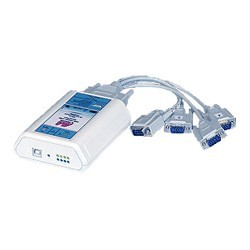 Lava USB-Serial Link 4-232-DB9 Cabled