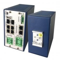 Flexdsl GF-RAIL4N-6Eth-2I2O/2SER-PoE-24V,V35