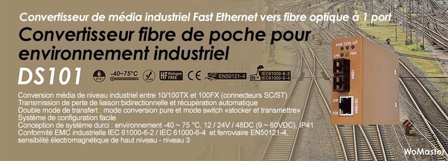 Convertisseurs Ethernet vers Fibre de poche pour environnements extrêmes