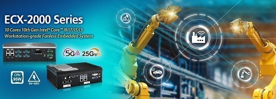 Vecow lance des solutions de processeur Intel Core de 10e génération pour station de travail de la série ECX-2000