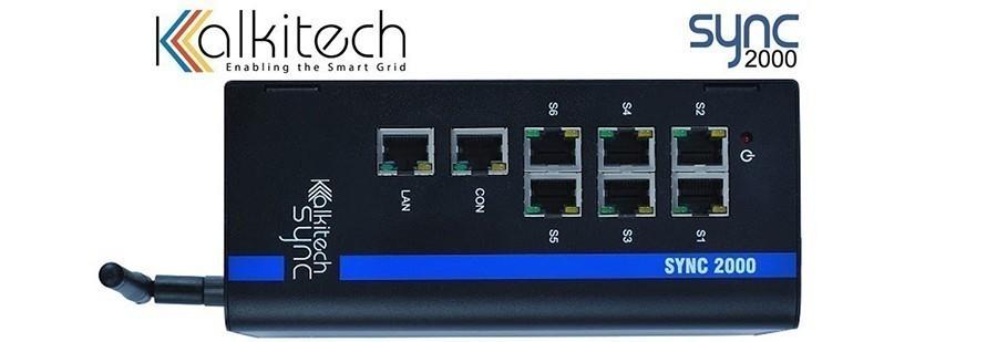 Kalkitech SYNC-2000 : Passerelle de protocole pour sous-station basée sur les spécifications IEC 61850-3